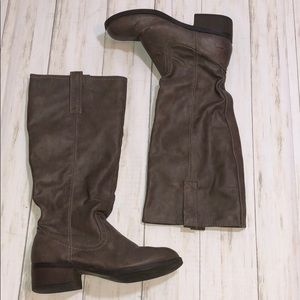 Faux leather Tall Boots